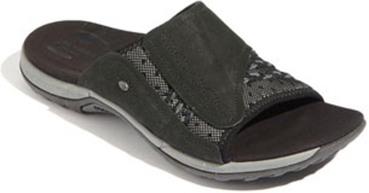 a7173210793b Lyst - Merrell  lilyfern  Sandal in Black