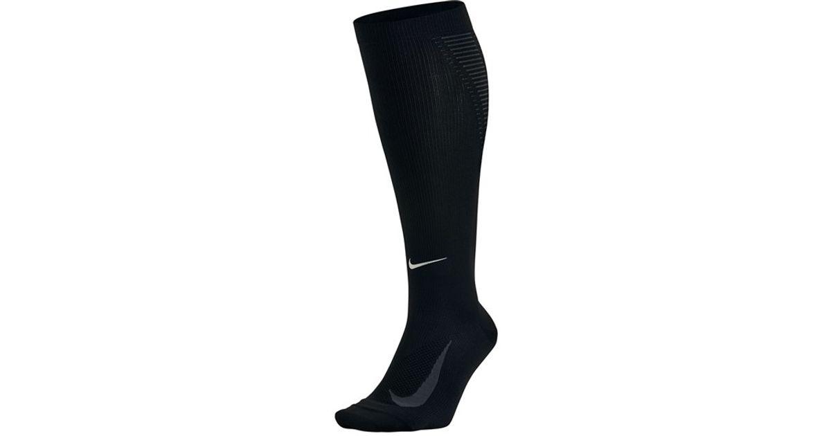 Nike 'elite' Knee High Socks in Black | Lyst