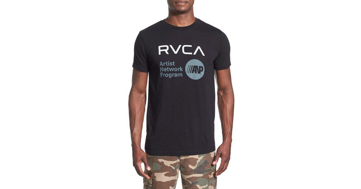 Lyst - Rvca 'artist Network Program' Graphic T-shirt in ...  Lyst - Rvca ...