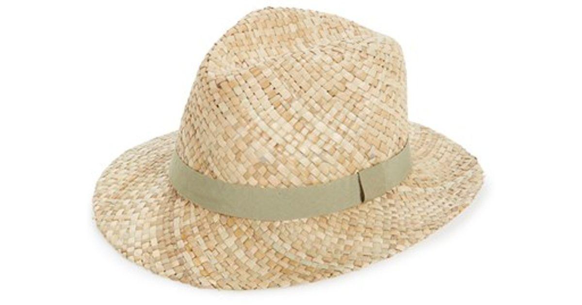1341b3ff1f9 Lyst - Topman Straw Puritan Hat in Natural for Men