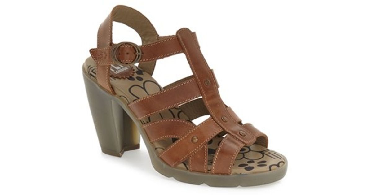 c2e3a0ddfe04 Lyst - Fly London  maye  Sandal in Brown