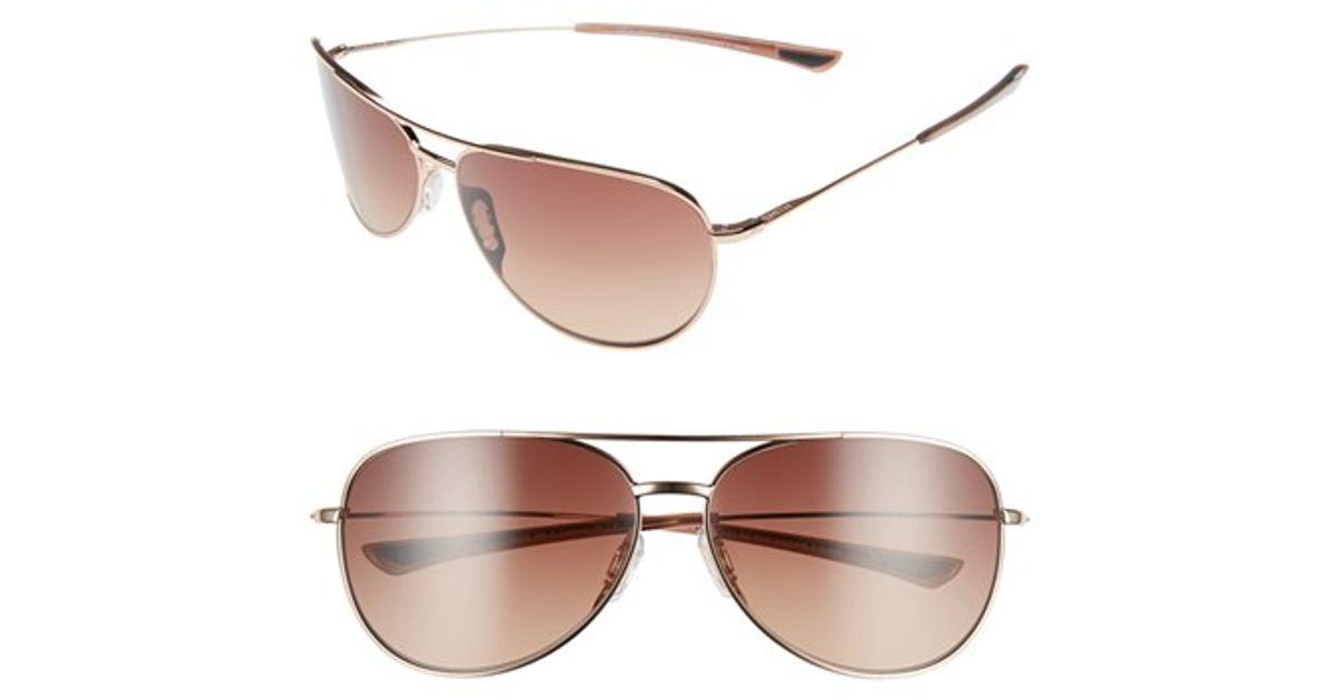 d5299c615d5 Lyst - Smith Optics  rockford Slim  58mm Polarized Sunglasses in Brown