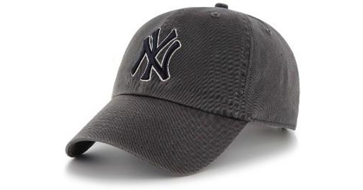buy quiksilver mens destril trucker baseball hat 4bb29 17f4a  clearance  lyst 47 brand ny yankees baseball cap in gray for men f9b68 e5519 69b82db831c6