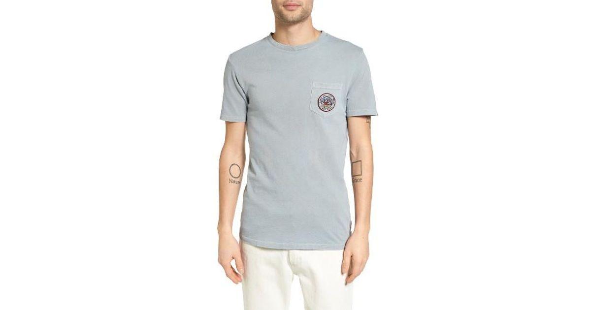 fe5321aa76a0b1 Lyst - Vans Bear Patch Pocket T-shirt in Gray for Men