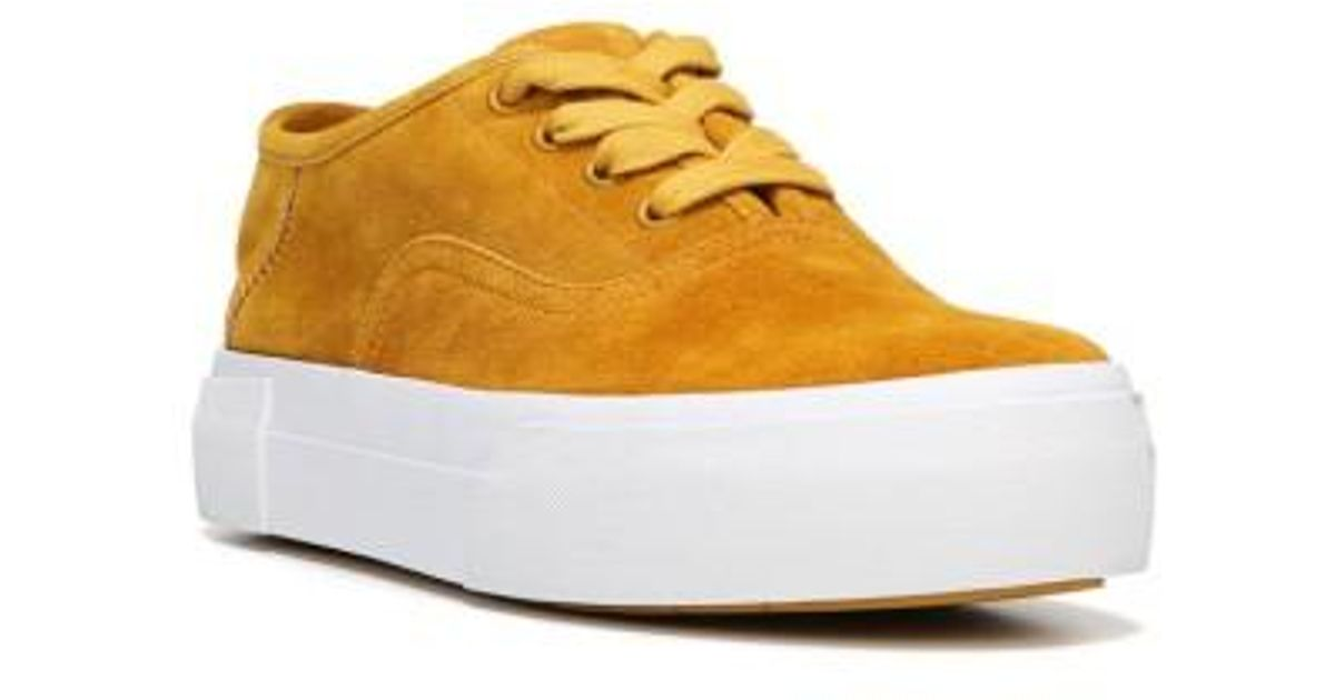 feff19ddc92 Lyst - Vince Copley Platform Sneaker in Yellow