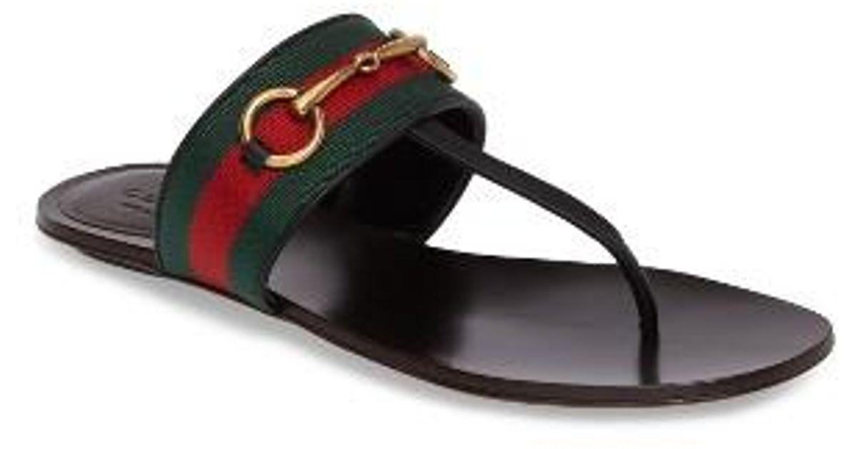 ab14da3f5f53 Lyst - Gucci Querelle Sandal in Black