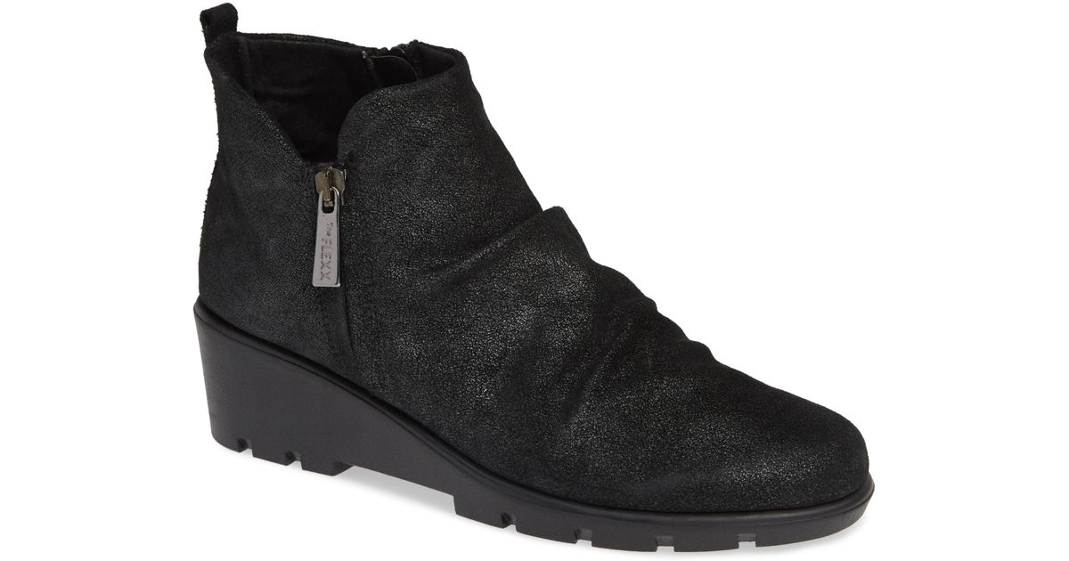 68932b1c9126 Lyst - The Flexx Slingshot Ankle Bootie in Black - Save 53%