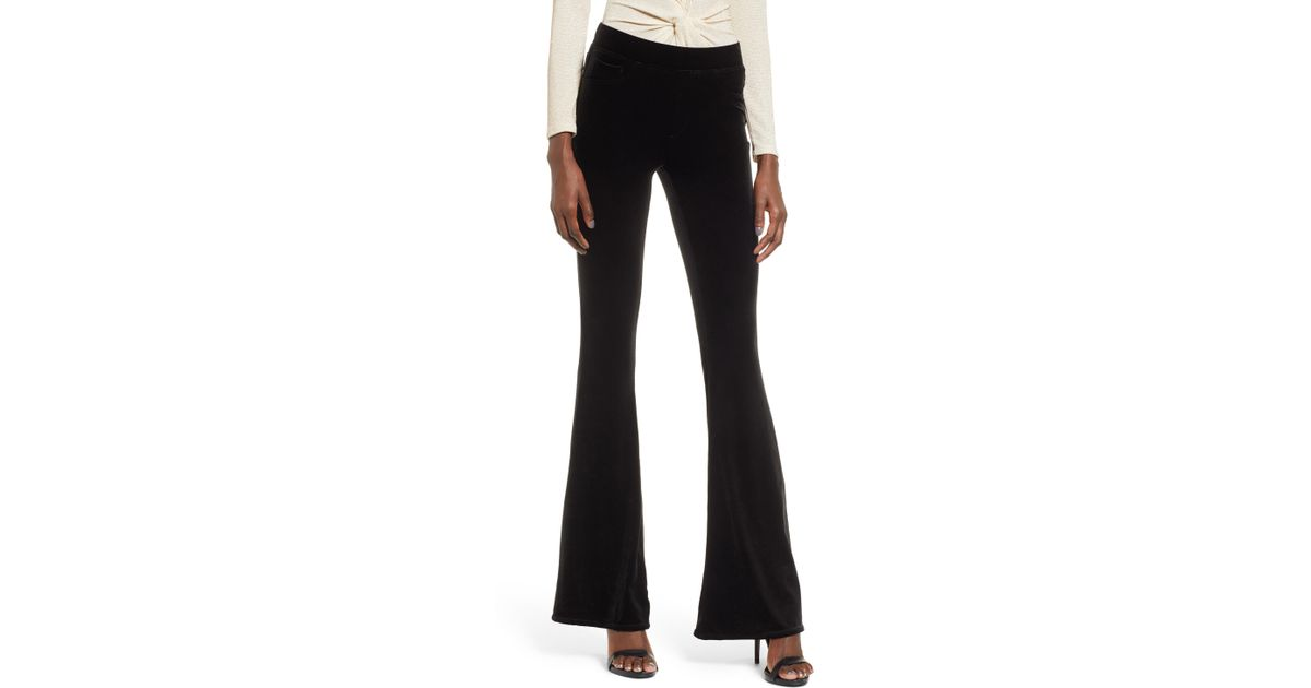 b71c638e978ac Lyst - Blank Nyc Velvet Flare Pants in Black
