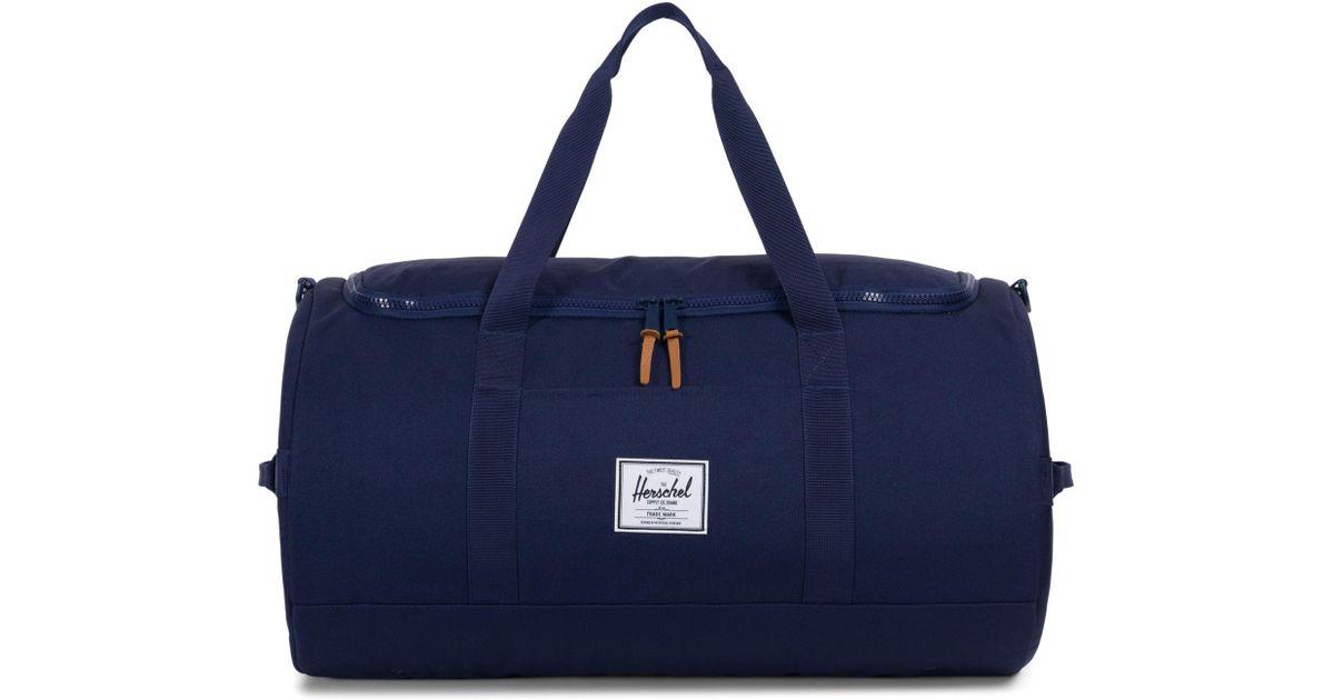 ea3b5f93c964 Lyst - Herschel Supply Co. Sutton Duffel Bag in Blue for Men