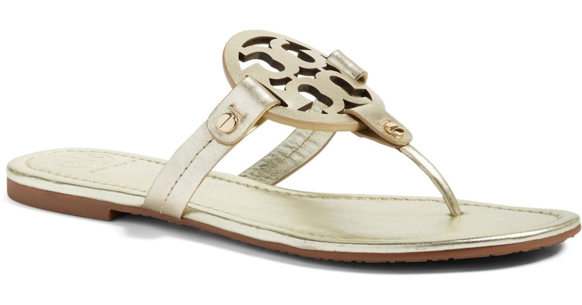 8e626a8bb866b5 Lyst - Tory Burch  miller  Flip Flop in Yellow
