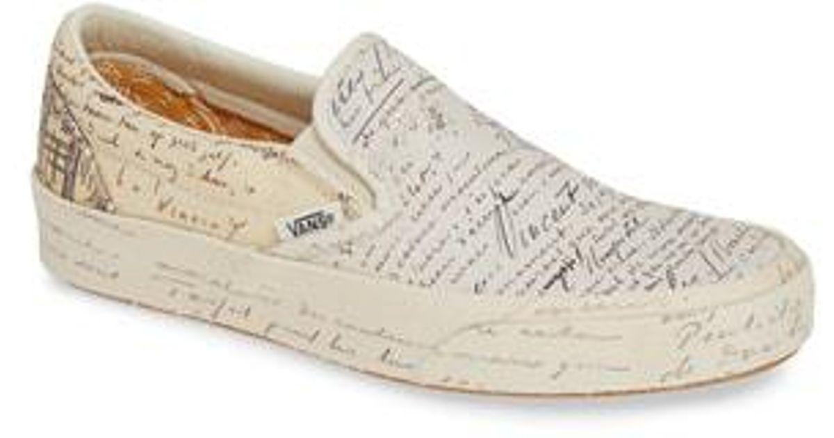 d0c7959452 Lyst - Vans X Van Gogh Museum Collection Ua Classic Slip-on Sneaker