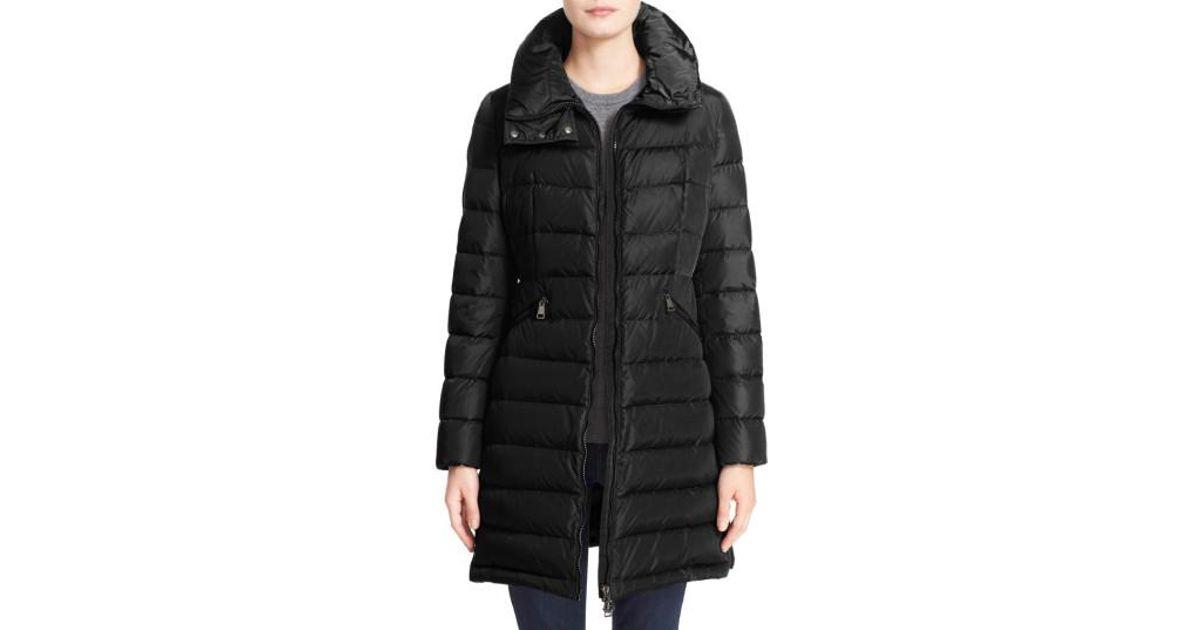 moncler black coat