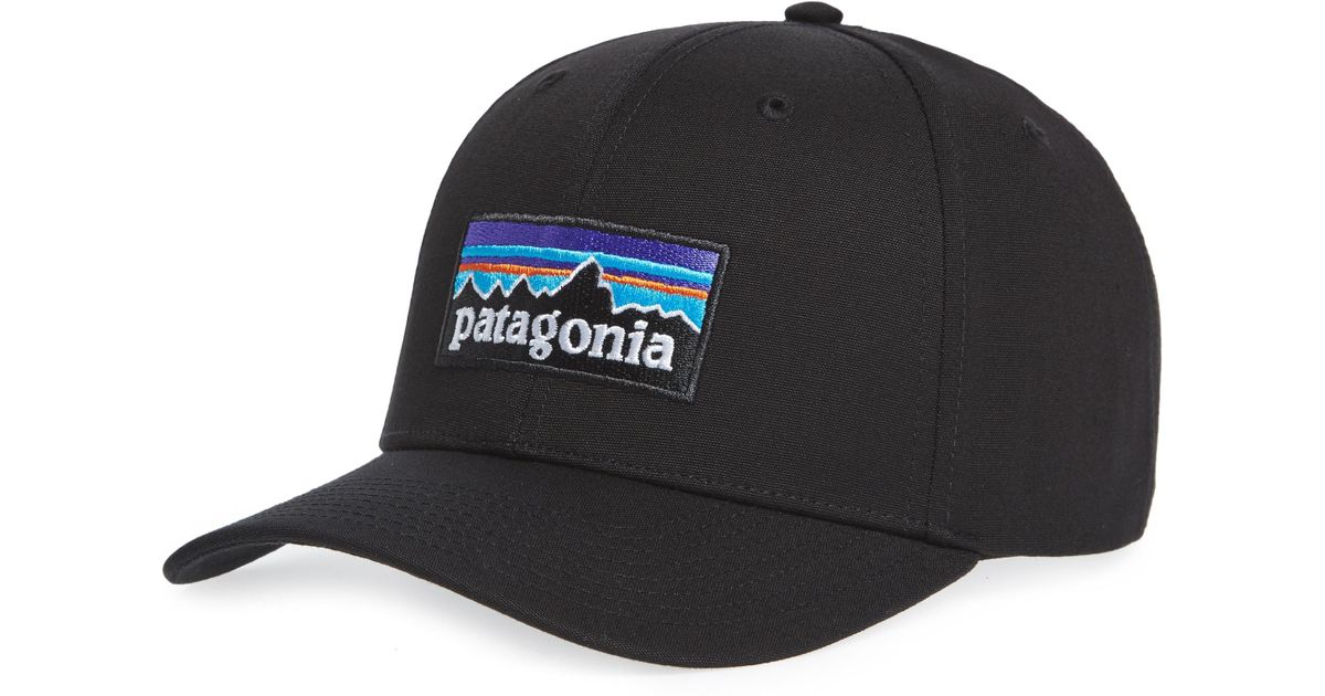 a4d2c83dcbbc4 Lyst - Patagonia P-6 Roger That Baseball Cap in Black for Men