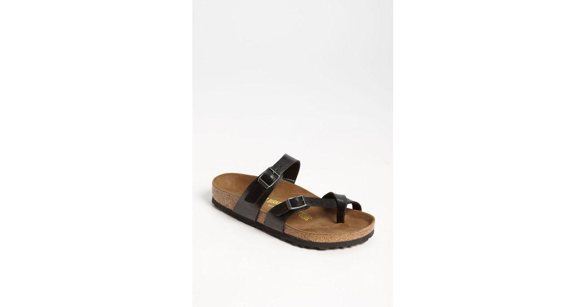 e9752b815419 Lyst - Birkenstock  mayari  Birko-flor(tm) Sandal in Natural - Save 5%