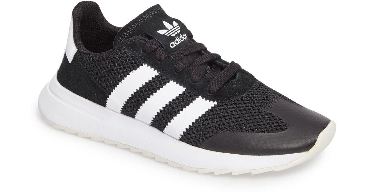 online store 8d01b c586d Lyst - adidas Flashback Sneaker in Black
