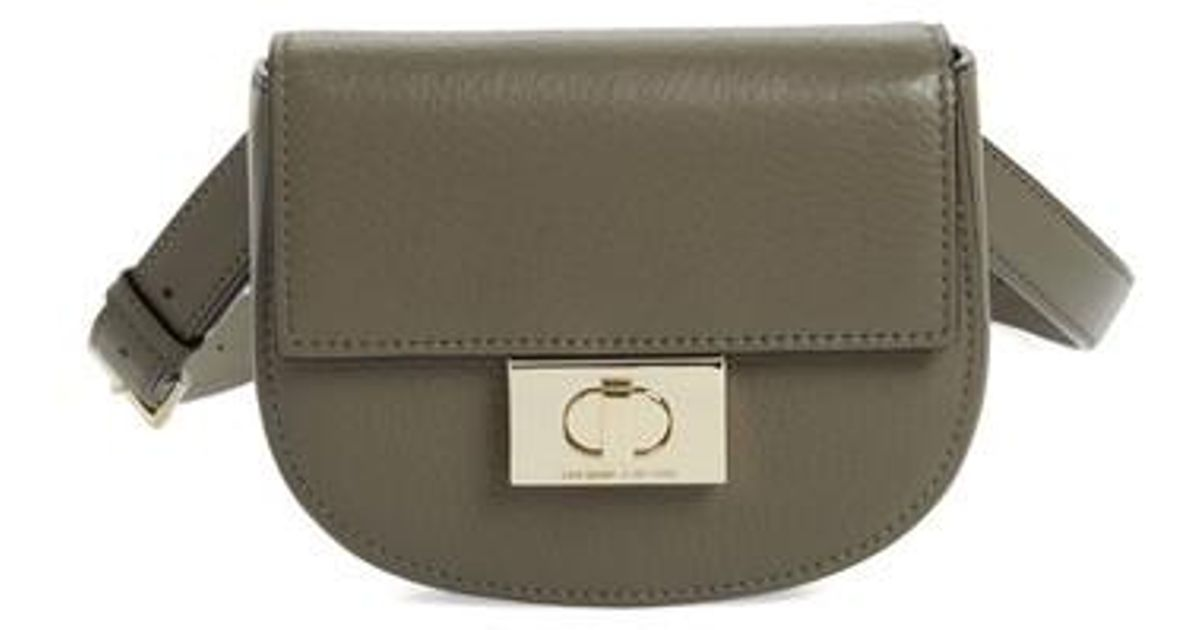 6f89d94b2d5 Lyst - Kate Spade Greenwood Place Rita Leather Belt Bag in Green