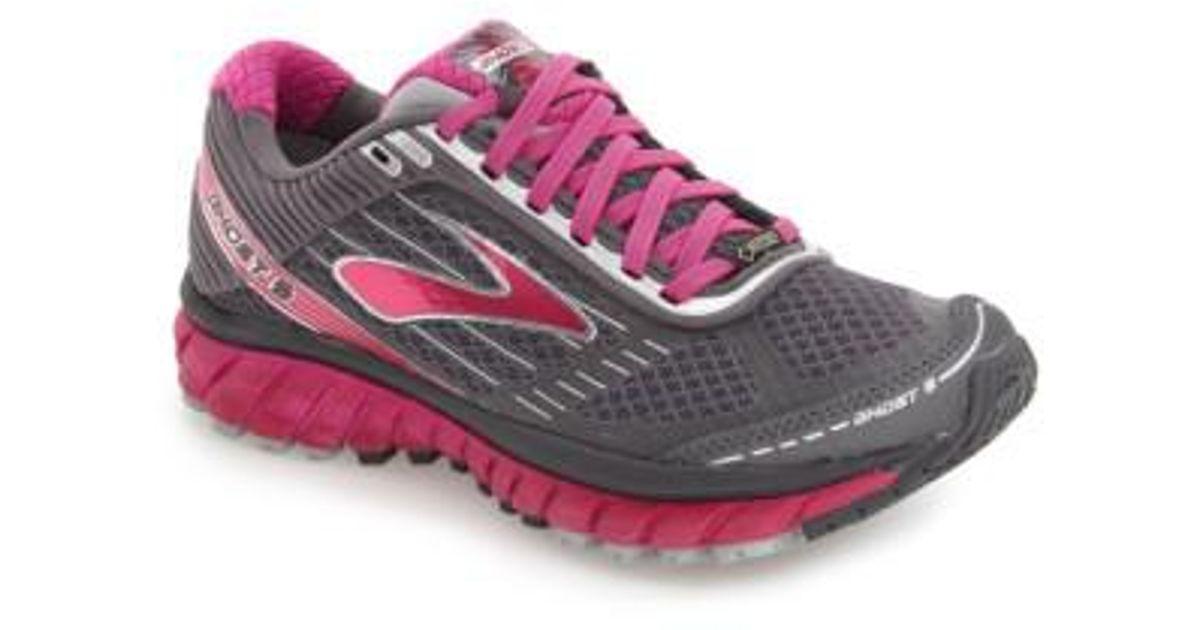 d3eb007817d Lyst - Brooks Ghost 9 Gore-tex Waterproof Running Shoe in Purple