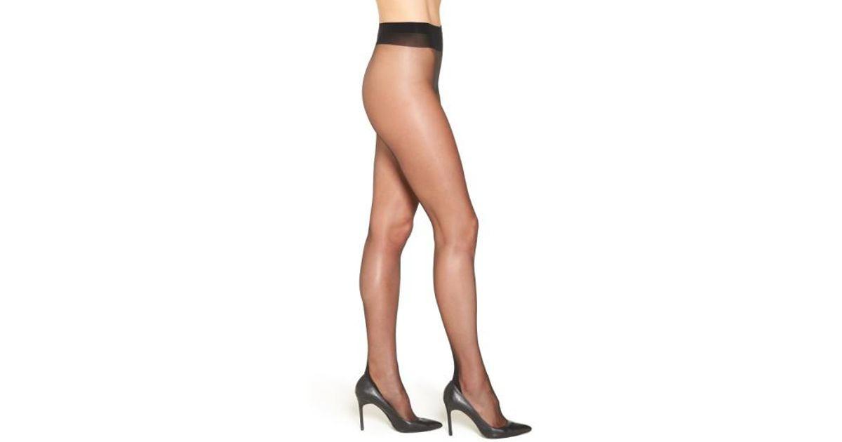 40a8a1f58e270 Falke 'high Heel' Back Seam Pantyhose in Black - Lyst