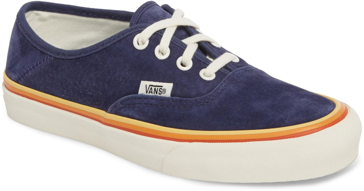 f63ef3d31755 Lyst - Vans Authentic Sf Sneaker in Blue