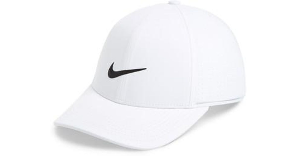 c9dc5a34 Lyst - Nike Aerobill Legacy 91 Golf Hat in White for Men