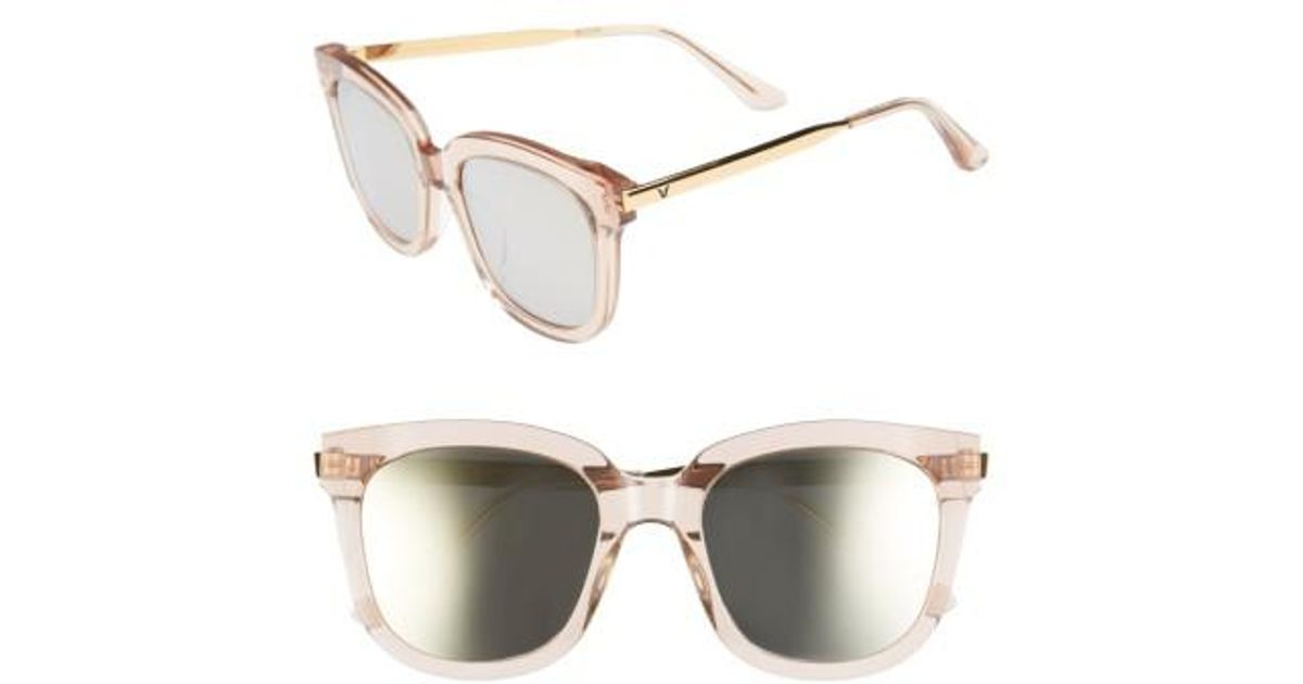 158e0f10a4 Lyst - Gentle Monster Absente 54mm Zeiss Lens Sunglasses - Sand  Gold in  Metallic