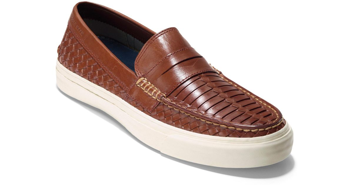 e77b6bc8b00f3 Lyst - Cole Haan Pinch Weekend Lx Huarache Loafer in Brown for Men