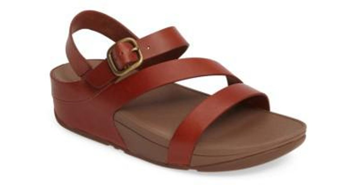 aabfc7216bceff Lyst - Fitflop (tm) The Skinny(tm) Z-strap Sandal in Brown