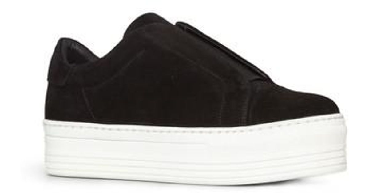 1e7573dbd62 Lyst - AllSaints Aya Platform Slip-on in Black
