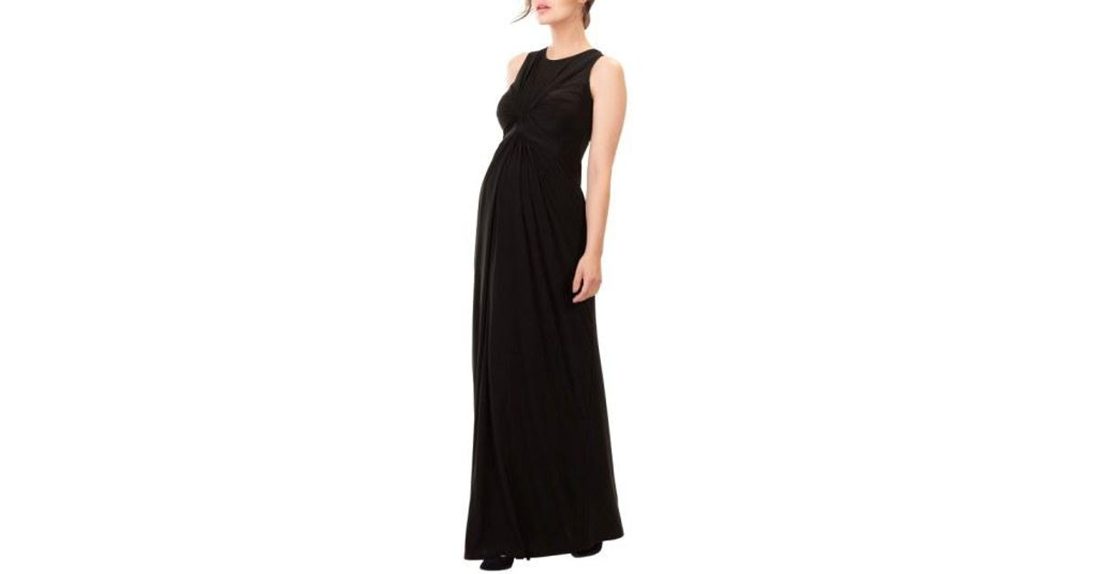 296a7320a67 Lyst - Isabella Oliver  florence  Maternity Maxi Dress in Black