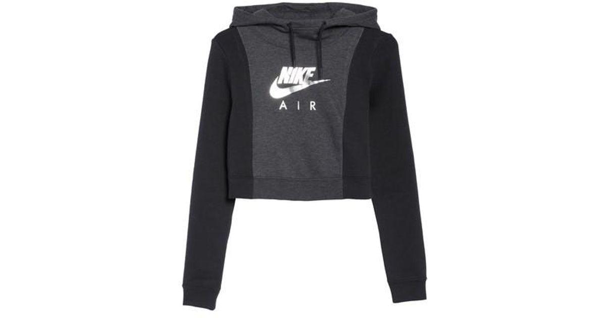4b51965ea81 Lyst - Nike Air Rally Hoodie in Black