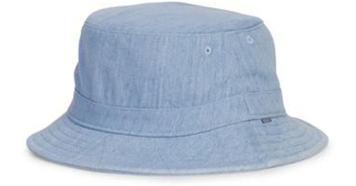 97ed1fd493a Lyst - Herschel Supply Co. Hersrchel Supply Co. Lake Denim Bucket Hat in  Blue for Men