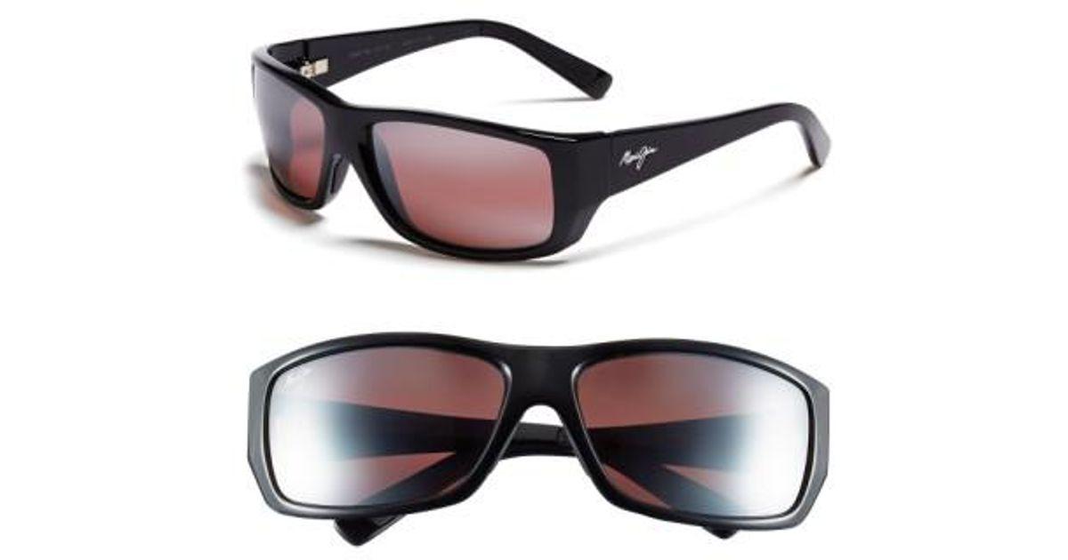 133509be16 Lyst - Maui Jim  wassup - Polarizedplus2  61mm Polarized Sunglasses - Gloss  Black  Maui Rose in Black for Men