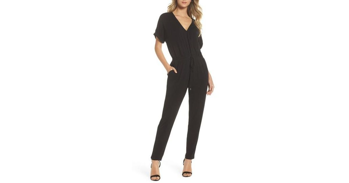 4ee66d9665b Lyst - Felicity   Coco Rocco Jumpsuit in Black