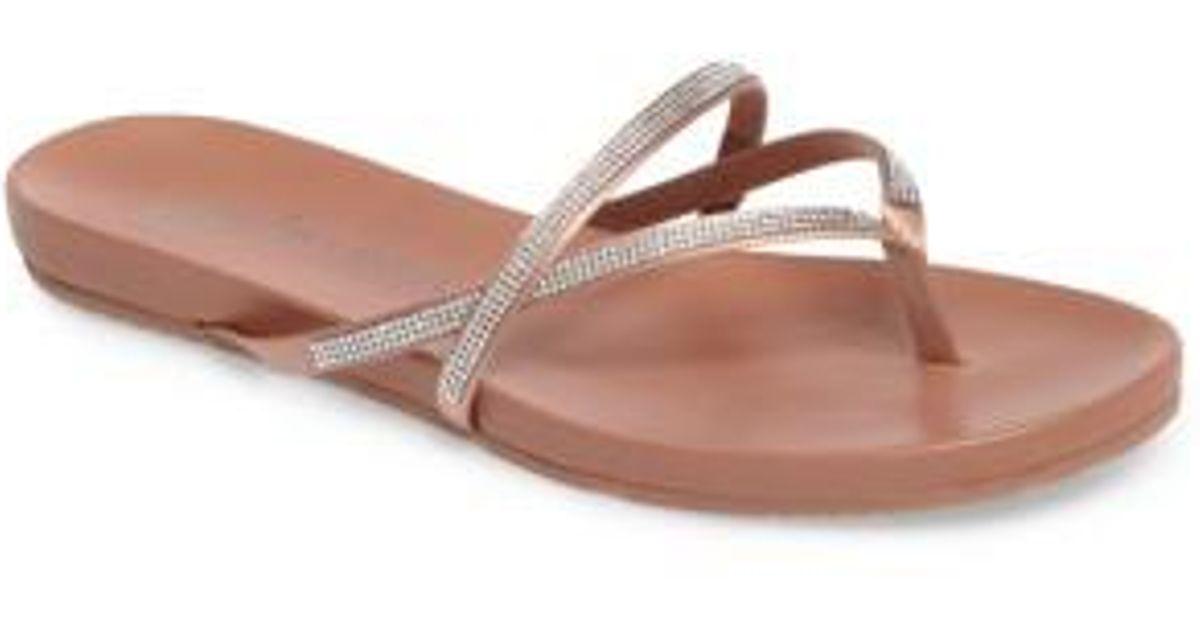 50dce3c23f2a Lyst - Pedro Garcia Giulia Crystal Embellished Sandal - Save 39%
