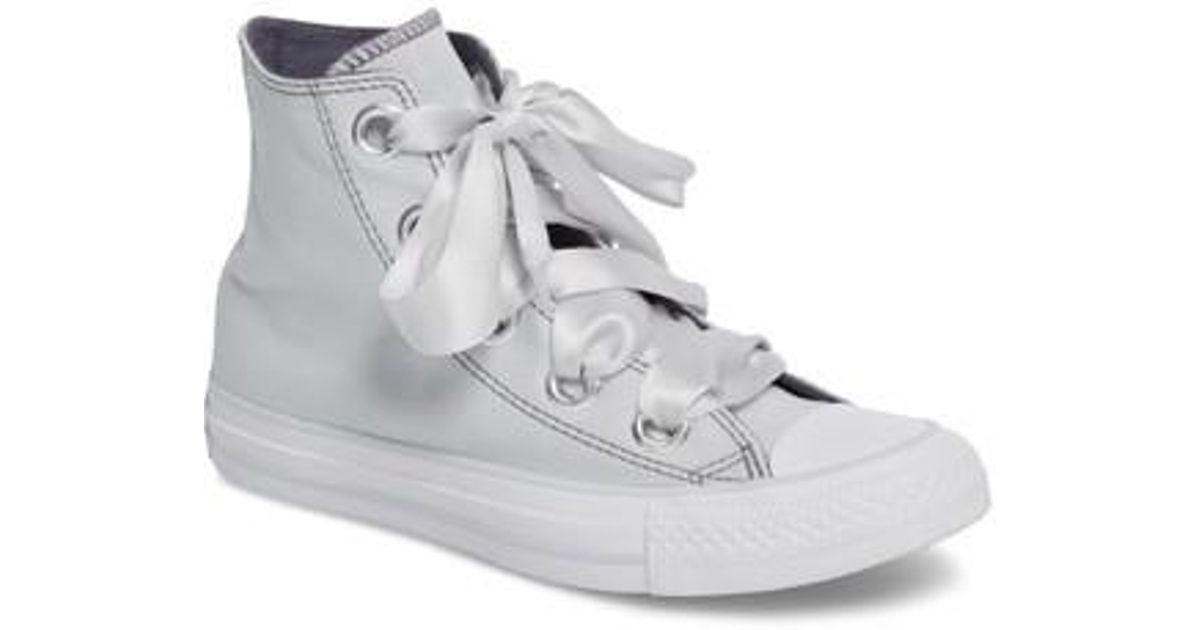 6db93bc17cf5 Lyst - Converse Chuck Taylor All Star Big Eyelet High Top Sneaker