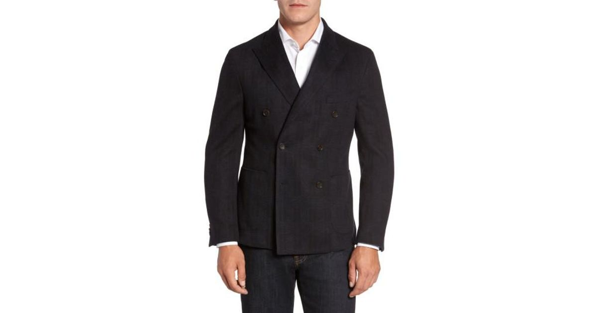 FLYNT Classic Fit Jersey Double-Breasted Sport Coat Discount Really Very Cheap Outlet Browse Eastbay Cheap Online Reliable tmX3Z3