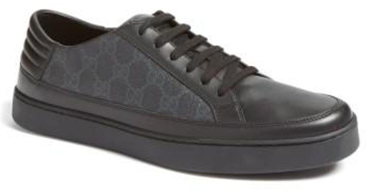 e293c83d48d5c6 Gucci 'common' Low-top Sneaker in Black for Men - Lyst