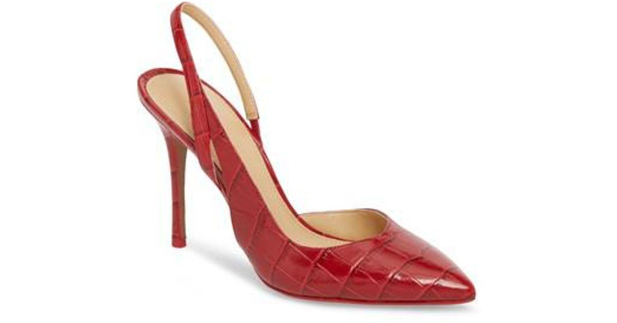 8079b77b541 Lyst - MICHAEL Michael Kors Eliza Pump (women) in Red