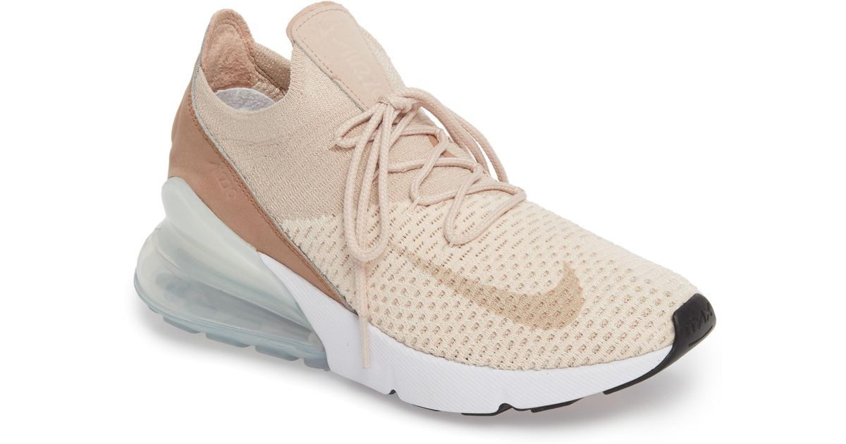 bde652f62ab31 ... australia lyst nike air max 270 flyknit sneaker in natural 5e6dd 9cec3
