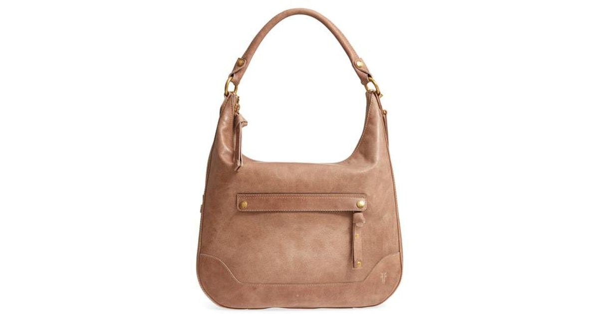 bbb5005492f Frye Melissa Large Leather Hobo in Brown - Lyst