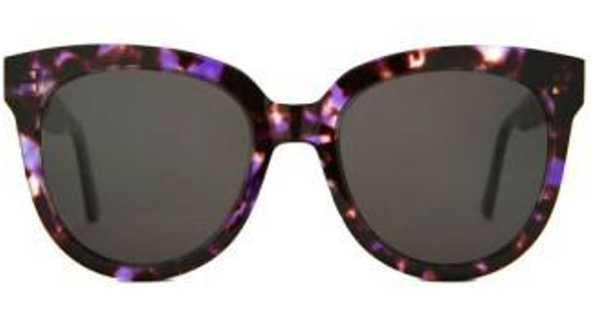 d5fb5b871336 Lyst - Gentle Monster Illusion 53mm Sunglasses - Purple in Purple