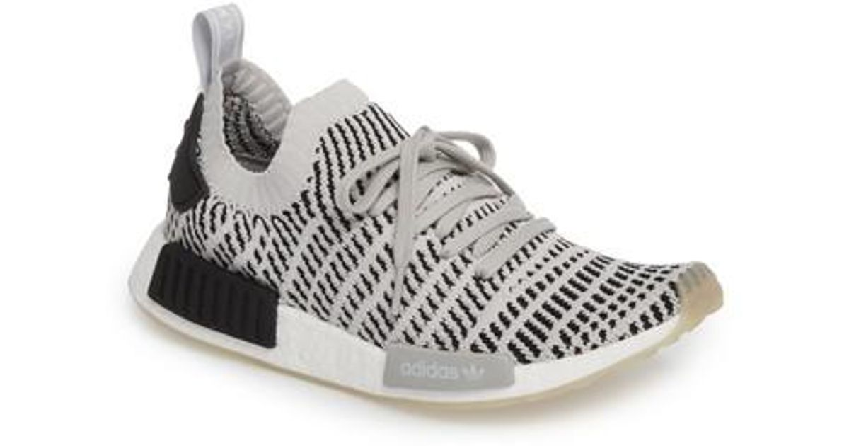 Lyst Adidas Nmd R1 Stlt Men Primeknit Sneaker in Gray for Men Stlt 9391e0