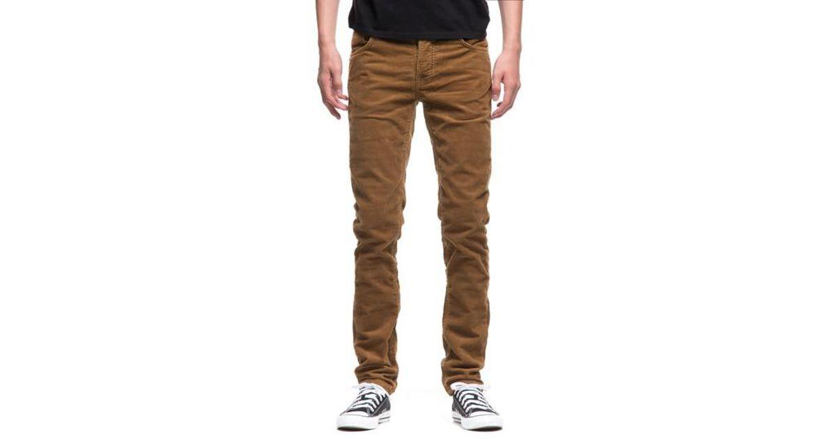 5939a1c9 Nudie Jeans Grim Tim Slim Fit Corduroy Pants in Brown for Men - Lyst