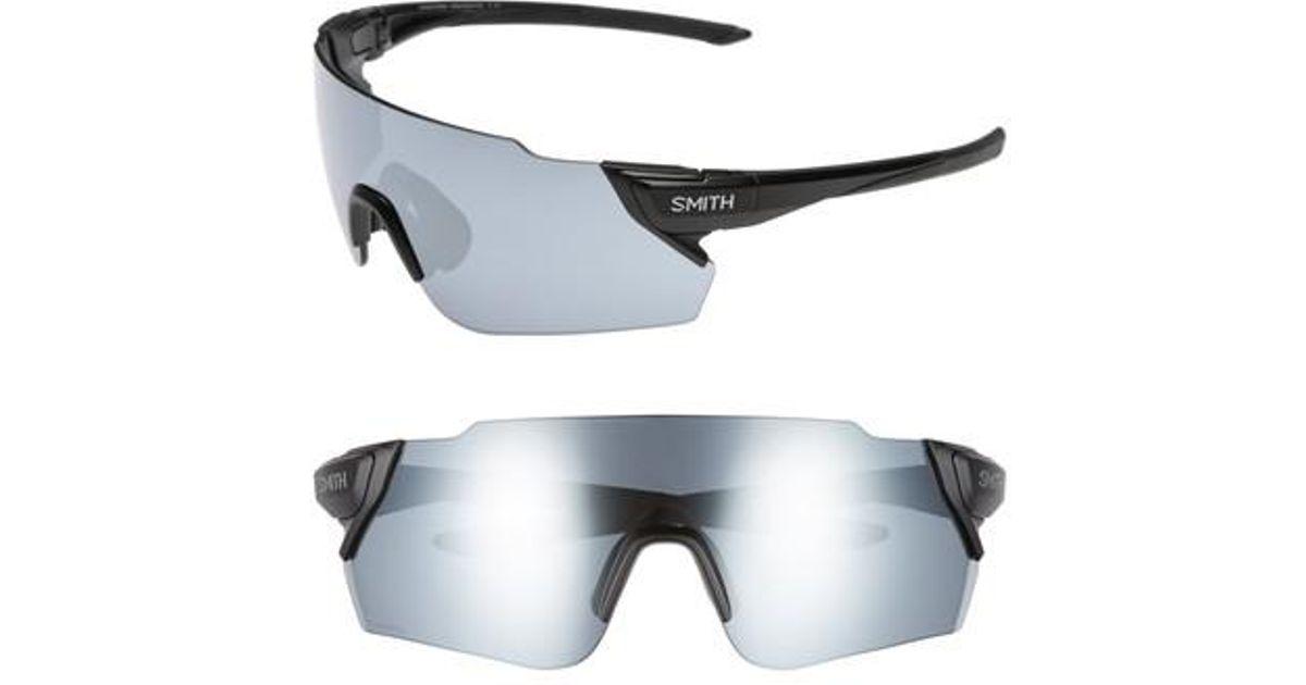 a0555aefb24 Lyst - Smith Attack Max 125mm Chromapop(tm) Polarized Shield Sunglasses in  Black for Men