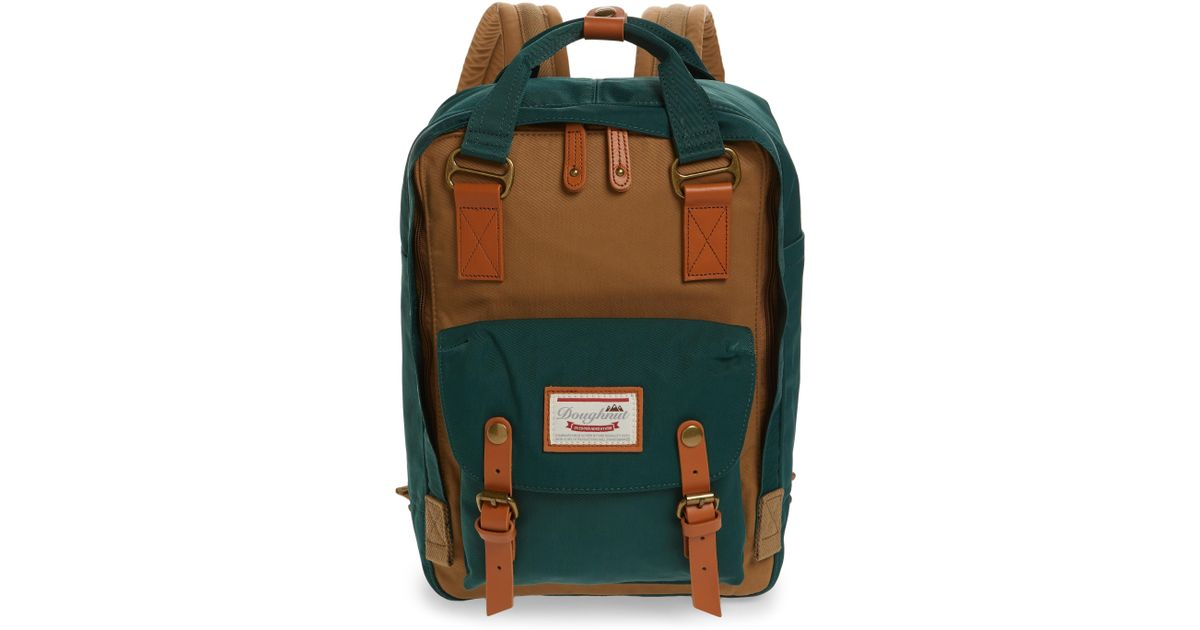 3bb38fe3b3 Lyst - Doughnut Macaroon Colorblock Backpack - in Green