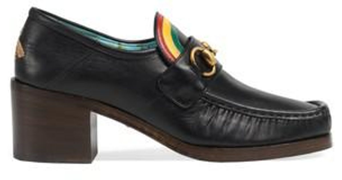 b72a6e0cbb5 Lyst - Gucci Vegas Rainbow Loafer in Black for Men