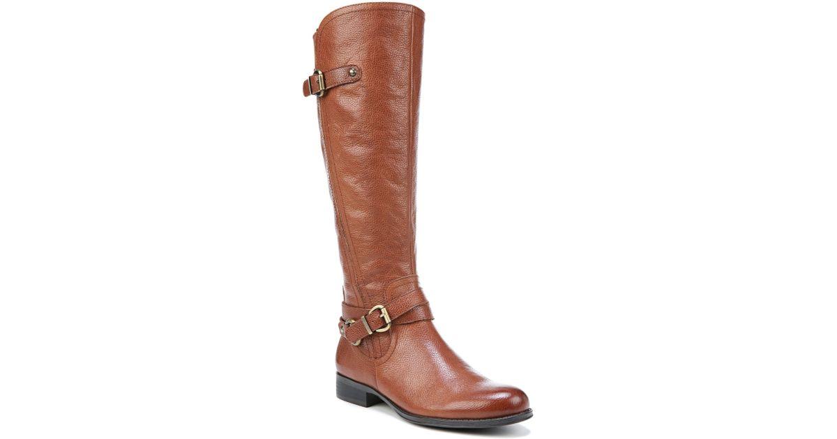 0b8a85199d6d Lyst - Naturalizer Jodee Knee High Boot in Brown
