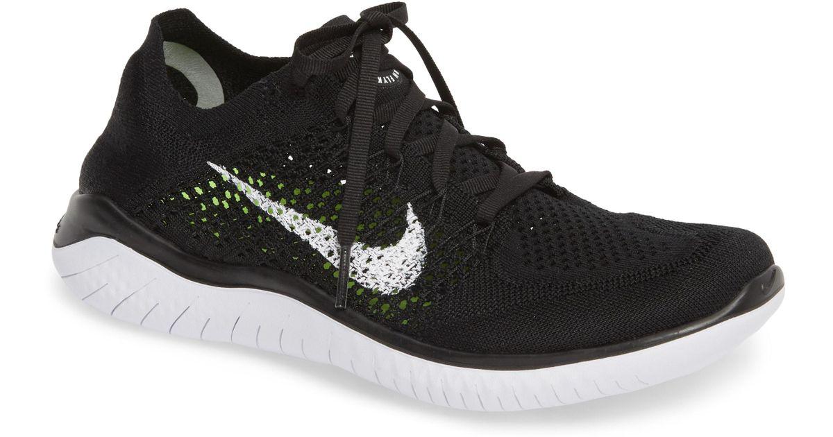8452dd4005dfe Lyst - Nike Free Rn Flyknit 2018 Running Shoe in Red for Men