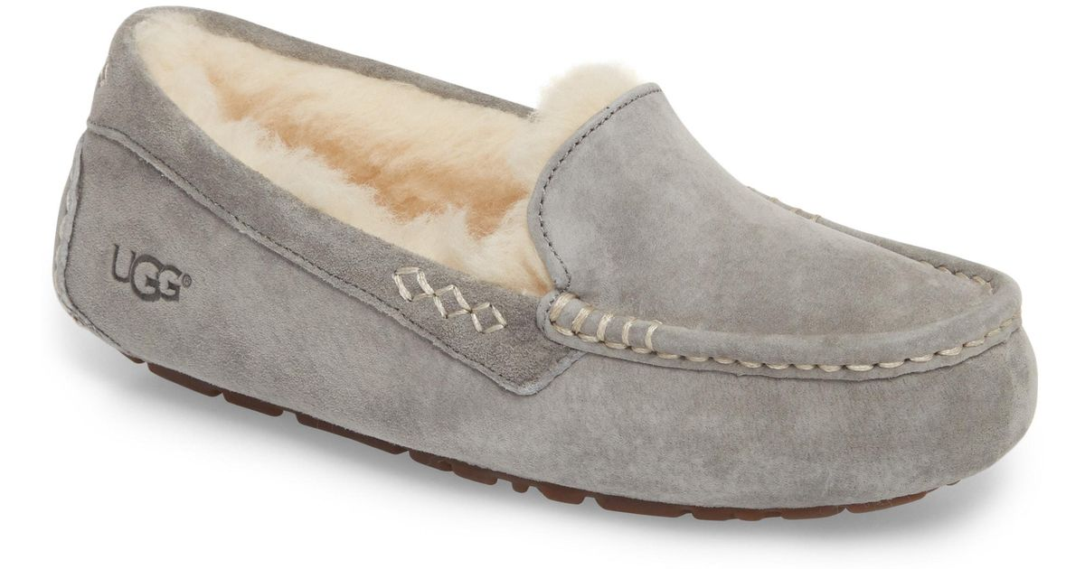 Lyst Ugg Ugg Ansley Water Resistant Slipper In Brown