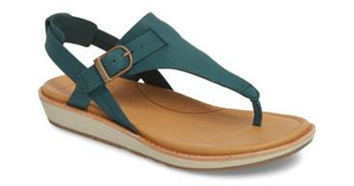 62d2f29421d Lyst - Teva Encanta V-strap Sandal in Green